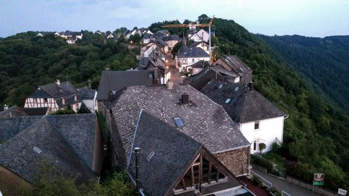 Ein Blick von der alten Burgruine