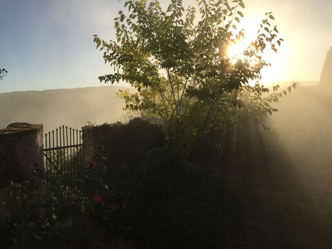 Bei uns geht die Sonne als letztes unter, da schläft man im Tal schon :-)