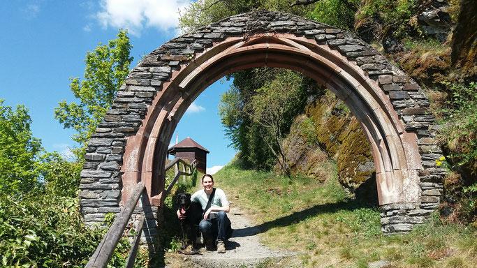 Hier geht´s zur alten Burgruine