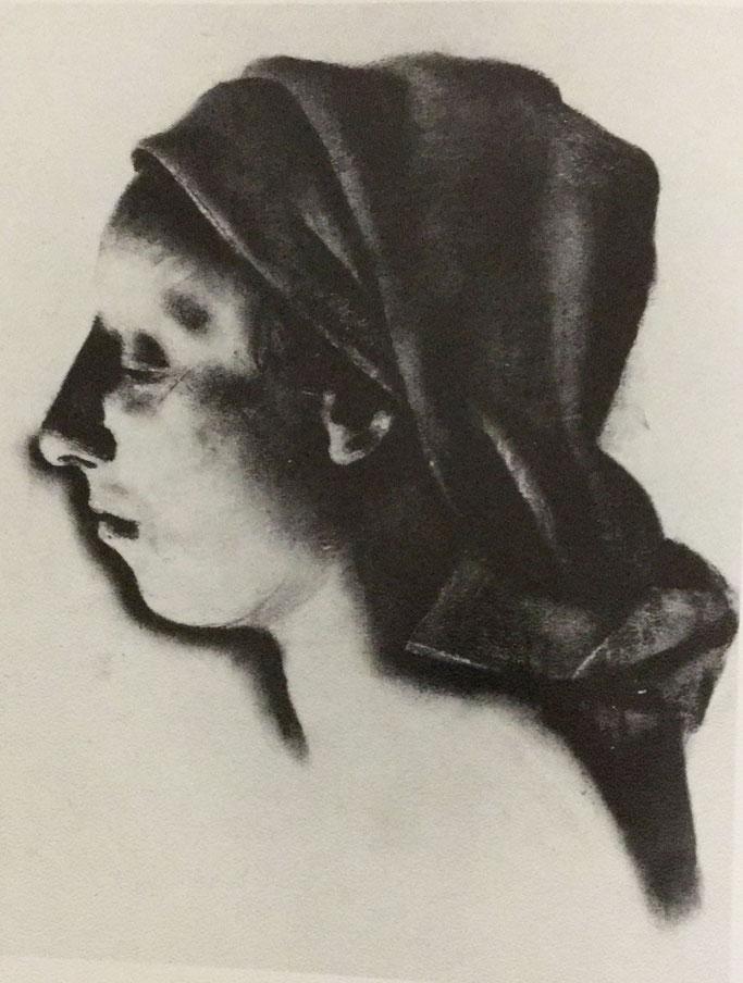 Portrait mit Kohlestift zeichnen