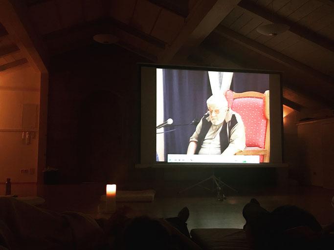 Paul Rebillot Video während seiner Master Class