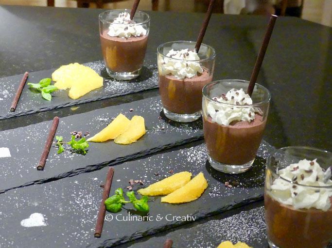 Geeistes Schokoladen-Mousse