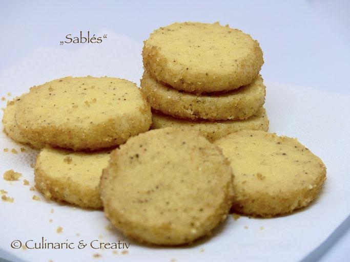 Sablés Französische Butterkekse