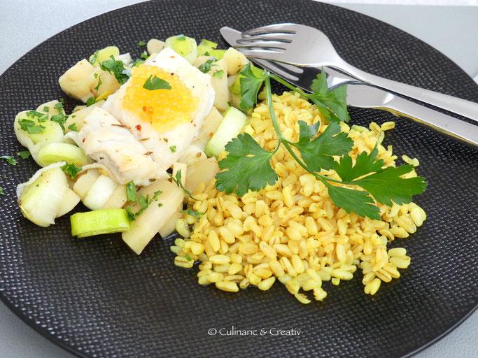 Skrei auf Pastinaken-Lauch-Gemüse mit gelbem Ebly.jpeg