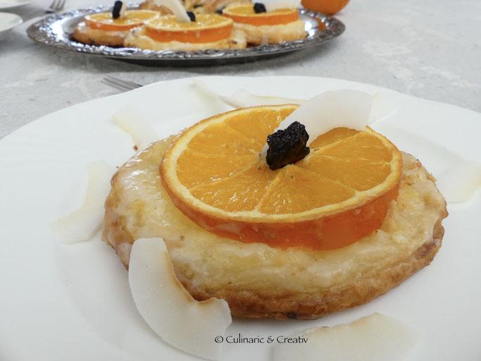 Orangen-Törtchen
