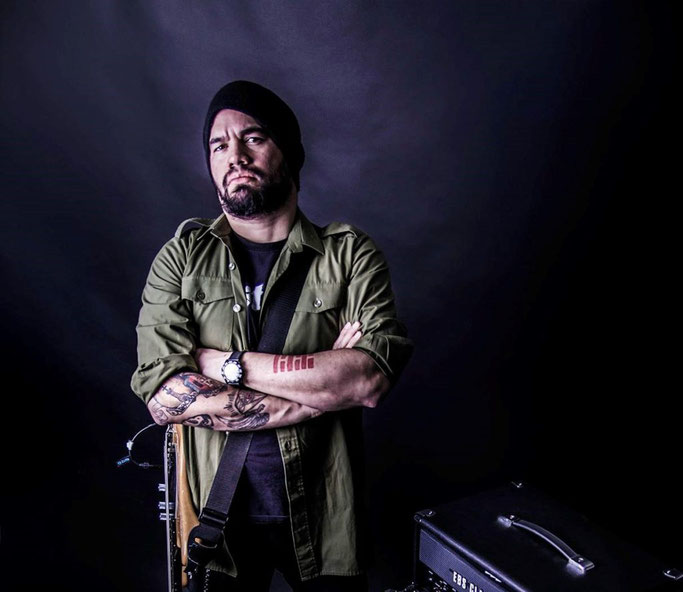 Francisco Escalona,  Bass player from Nightrage & Always war