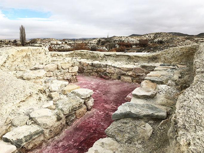 yacimiento arqueológico necrópolis tutugi galera ruta fenicios