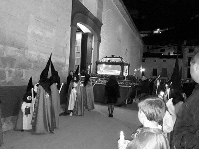 semana santa galera sábado santo entierro