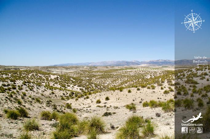 badlands cerros galera cerro