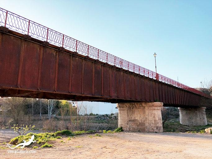 puente hierro galera sillares traviesas