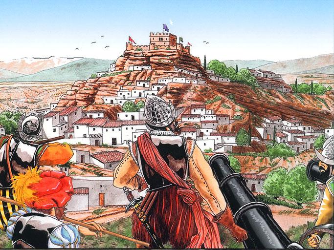 cerro de la virgen moriscos galera