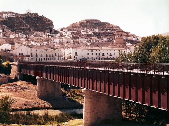 puente hierro galera