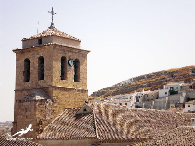 torre iglesia parroquial anunciación de galera