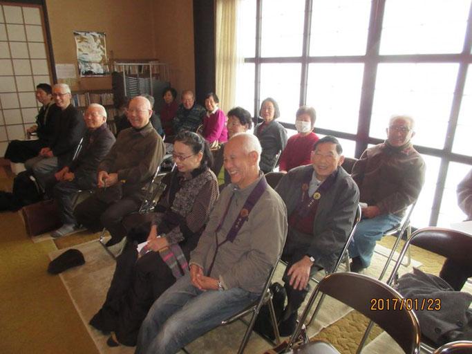 東京・八王子の浄土真宗 延立寺にて赤川浄友が法話を行った。