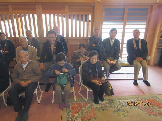 長野・南木曽の浄土真宗 長延寺さんにて、赤川浄友の法話