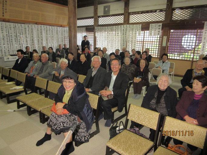 大分・別府の浄土真宗 西念寺さんにて赤川浄友の法話