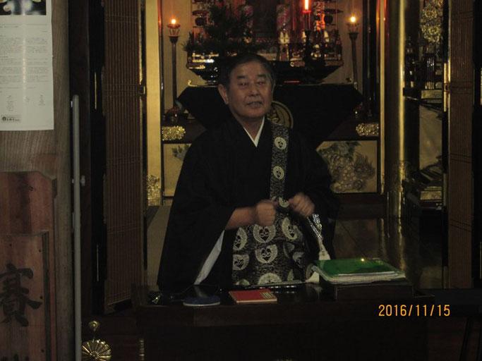 大分・別府の浄土真宗 西念寺 ご住職の高橋さん
