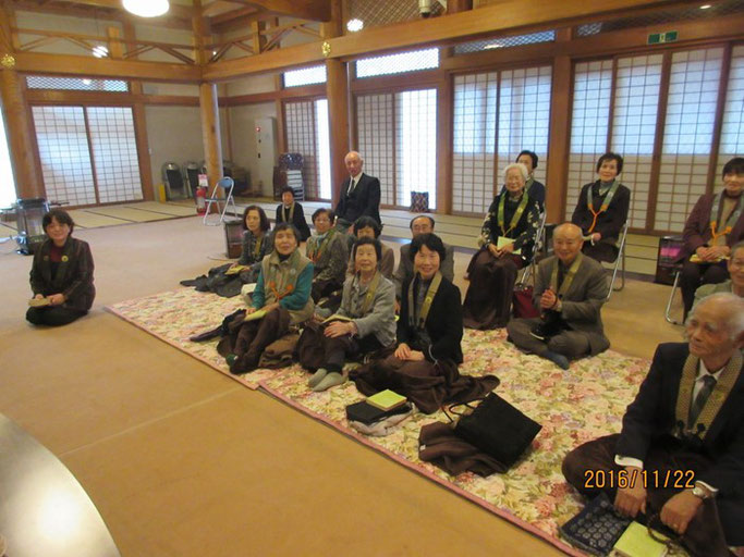 長野・松本の浄土真宗 安養寺さんにて赤川浄友の法話。