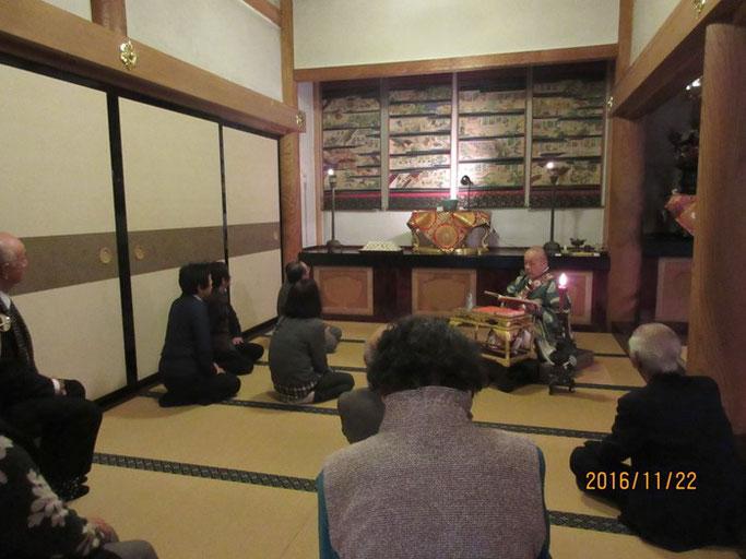 長野・松本の浄土真宗 安養寺ご住職さまの「御伝鈔」拝読
