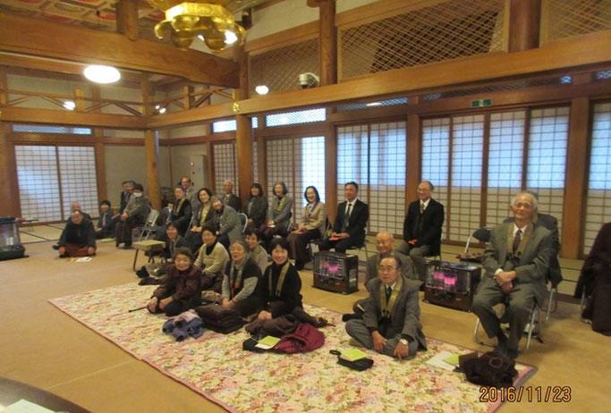 長野・松本の浄土真宗 安養寺さん ご満座