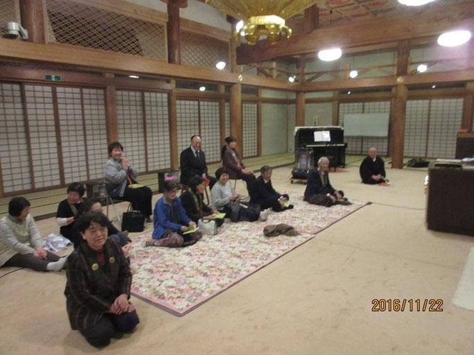 長野・松本の浄土真宗 安養寺さん 夜座・ピアノ弾き語り『涙そうそう』