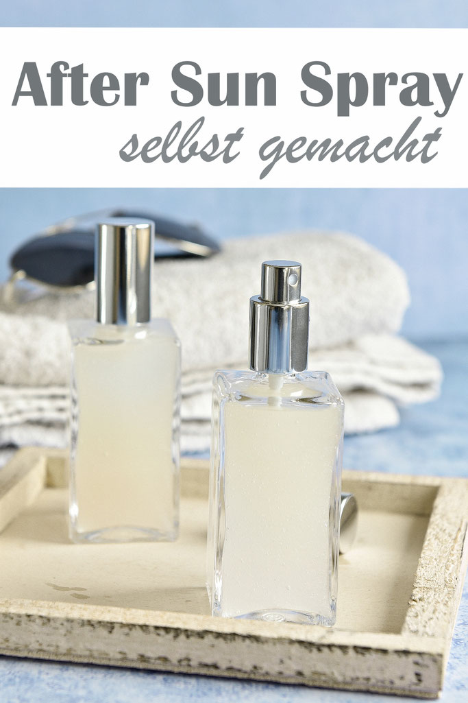 After Sun Spray selbst gemacht, Thermomix