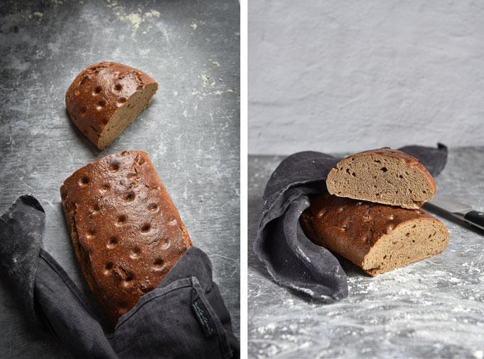 Sauerteigbrot Franz Roggen-Weizen Brot
