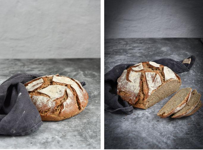 Sauerteigbrot Lissy Weizen-Roggen-Brot