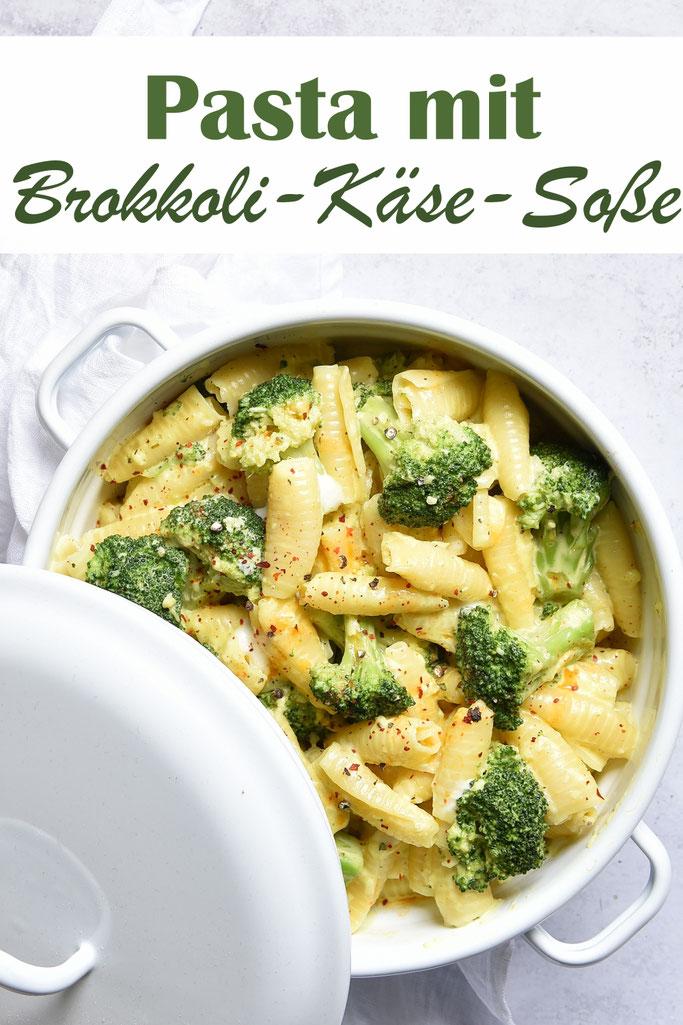 Pasta mit Brokkoli Käse Soße, vegetarisch, vegan machbar, Thermomix, einfaches Rezept, Express-Rezept, Mittagessen, Familienküche