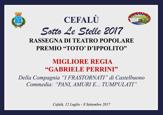 Premio Migliore Regia