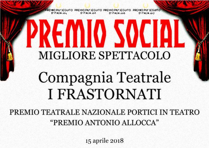 Premio Migliore Spettacolo Social