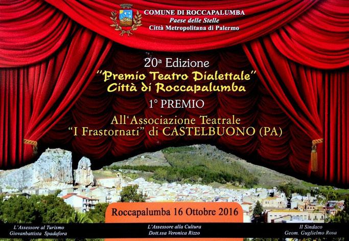 Premio Migliore Compagnia Teatrale