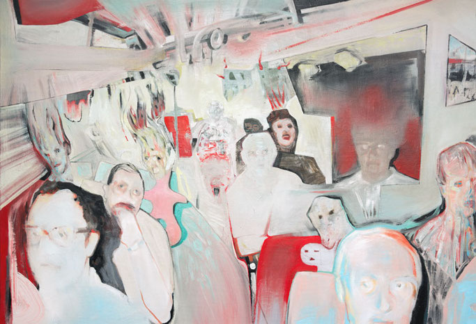 on the road to somewhere  , Roland Maas 2017