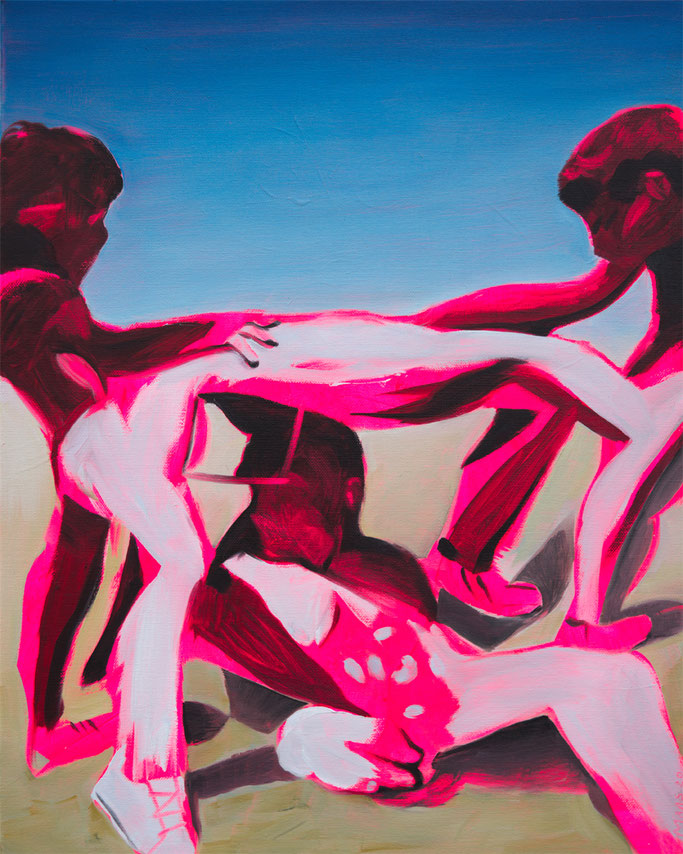 desert scene, Roland Maas 2020