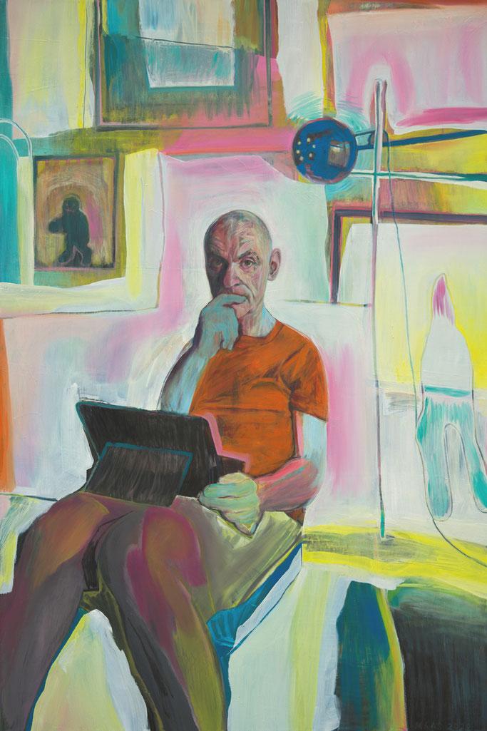 portrait of John , Roland Maas 2020