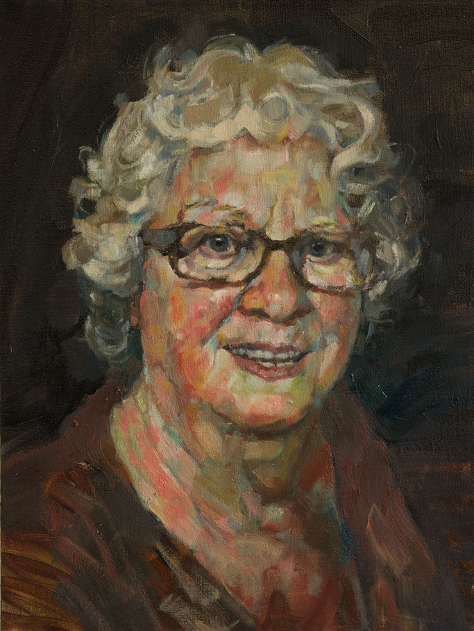 portrait of my mother , Roland Maas 2016