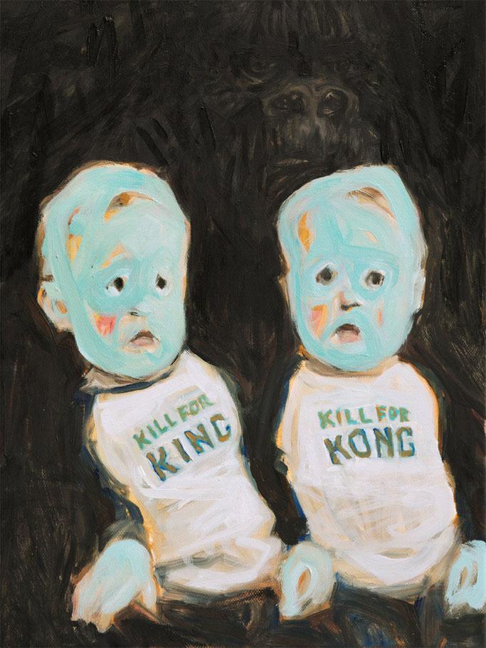 King Kong twins, Roland Maas, 2016