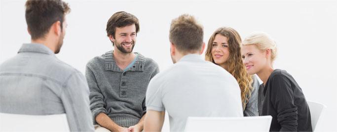 Gruppentherapie - Psychotherapie Schwabing