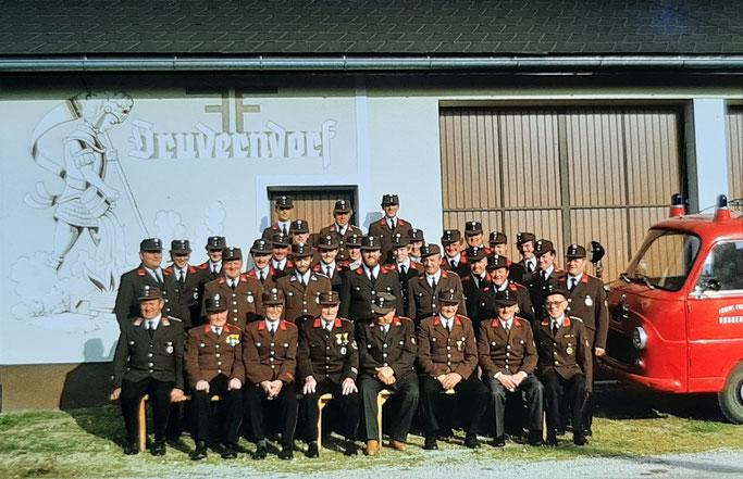 Mannschaftsbild aus dem Jahr 1984