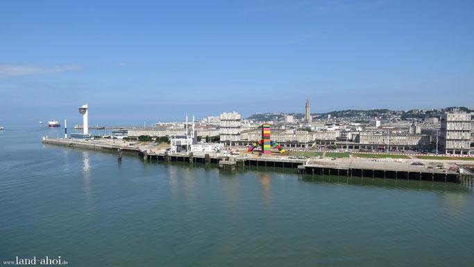 Le Havre Kreuzfahrt Hafen