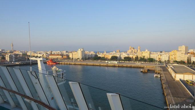 Cadiz Kreuzfahrt Hafen, Ausflüge auf eigene Faust