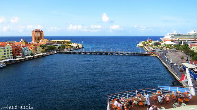 Curacao Hafen AIDA Liegeplatz