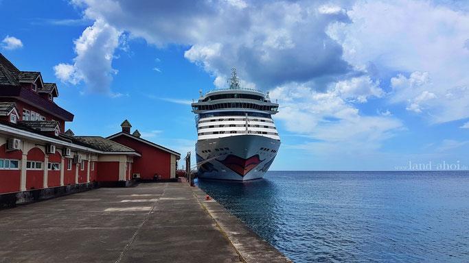 St. Vincent Kreuzfahrt Hafen Ausflug auf eigene Faust