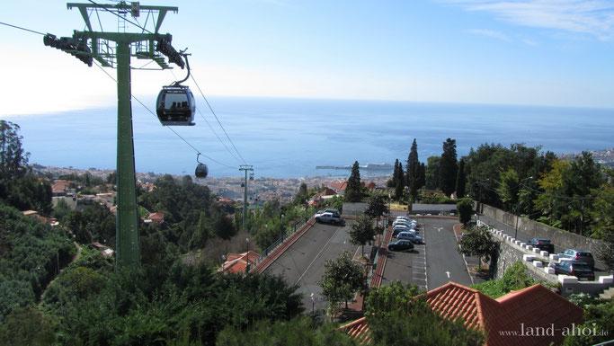 Madeira Funchal Seilbahn