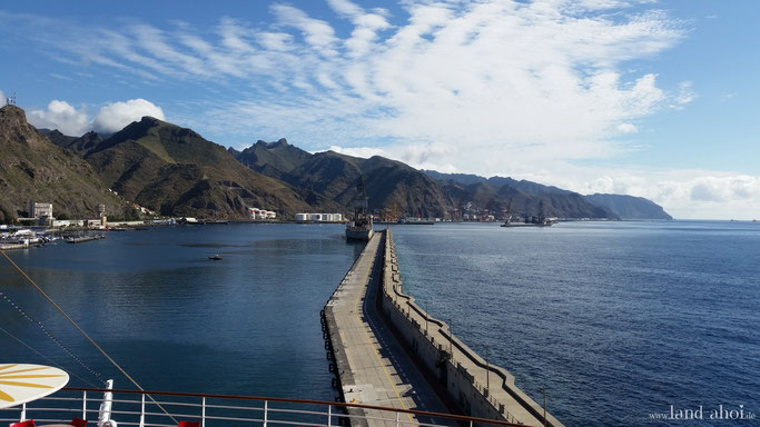 Santa Cruz de Teneriffe Hafen