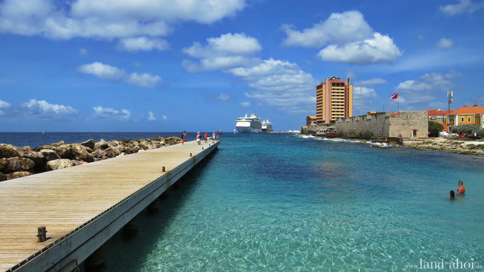 Karibik Kreuzfahrt Hafen Ausflug auf eigene Faust