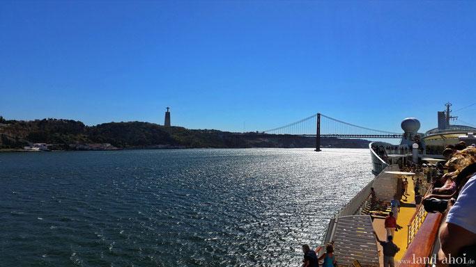 Westeuropa Kreuzfahrt Hafen Ausflug auf eigene Faust