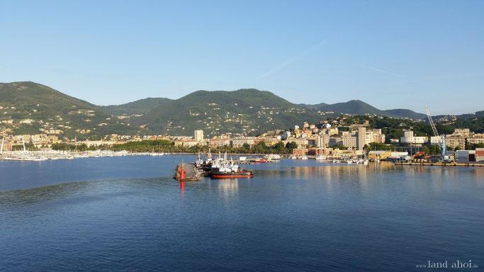 Kreuzfahrt Hafen La Spezia