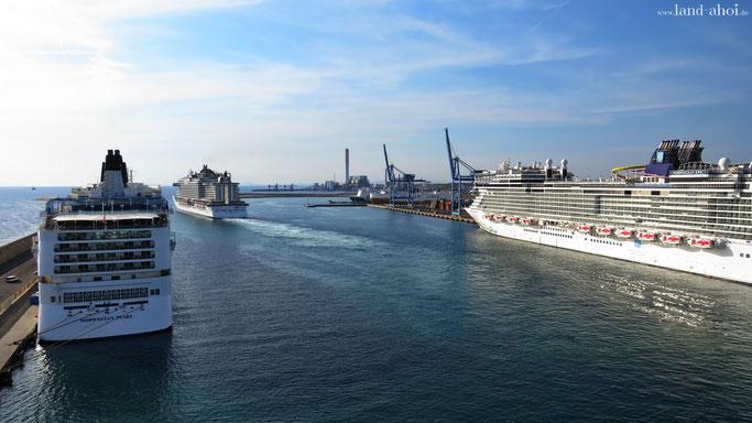 Civitavecchia Kreuzfahrthafen - Ausflug nach Rom