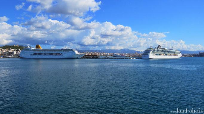 Mittelmeer Kreuzfahrt Hafen Ausflug auf eigene Faust